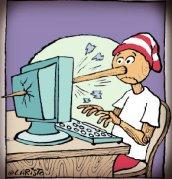 pinokyo-karikaturleri